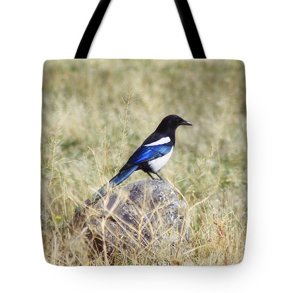 Black-billed Magpie Tote Bag