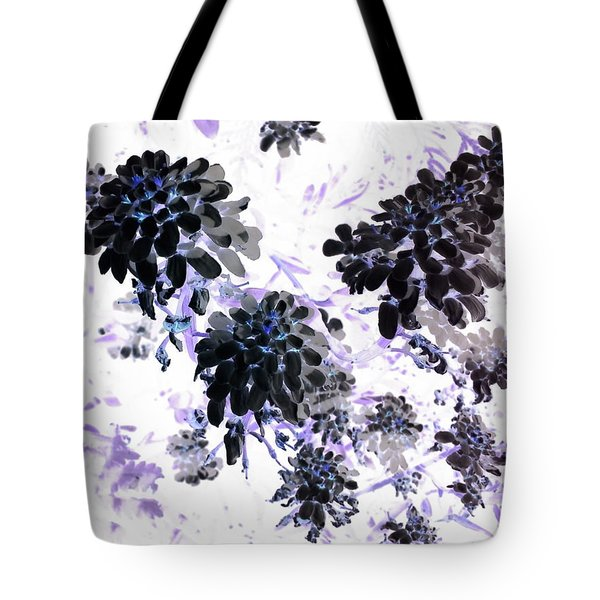 Black Blooms I Tote Bag