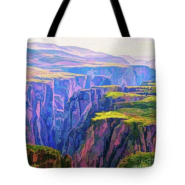 Black Canyon Colorado Tote Bag