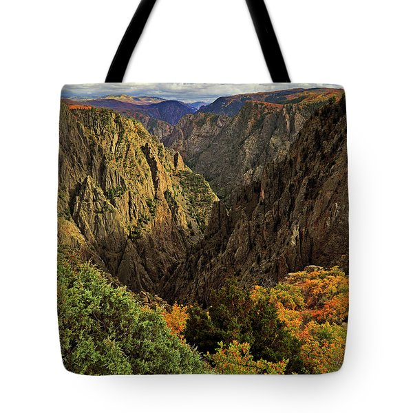 Black Canyon Of The Gunnison - Colorful Colorado - Landscape Tote Bag by Jason Politte