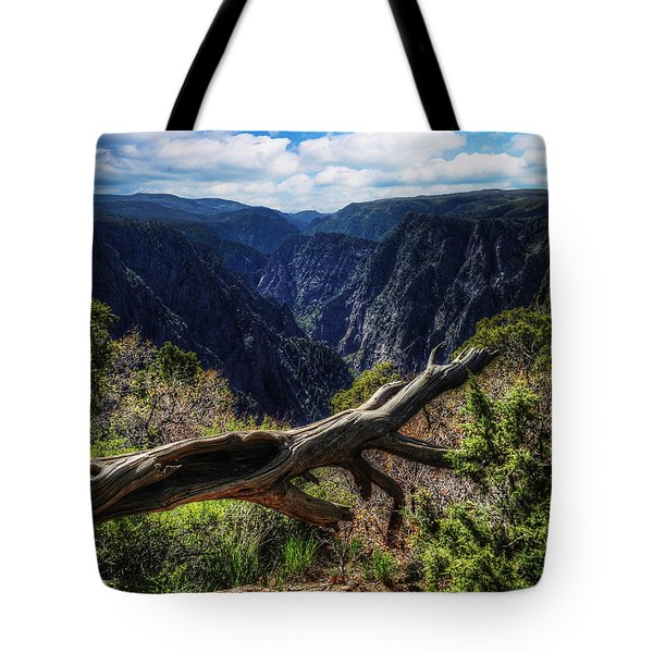 Black Canyon Of The Gunnison First Look Tote Bag