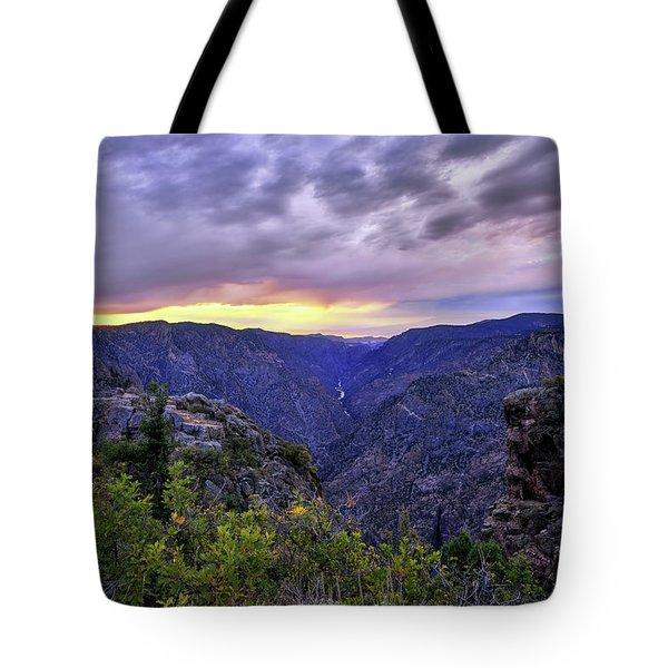 Black Canyon Sunset Tote Bag