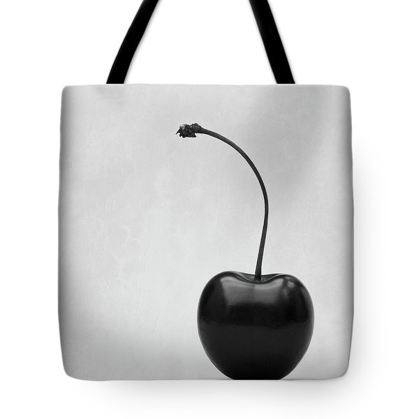 Black Cherry Tote Bag by Wim Lanclus
