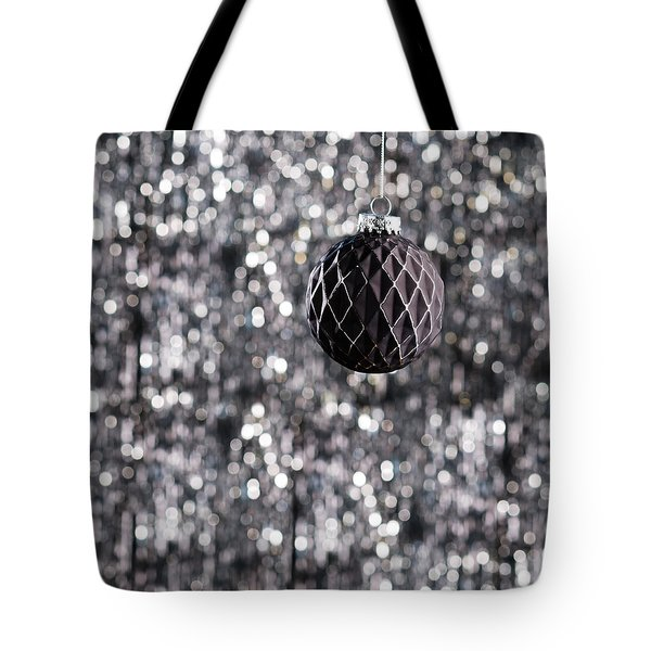 Tote Bag featuring the photograph Black Christmas by Ulrich Schade