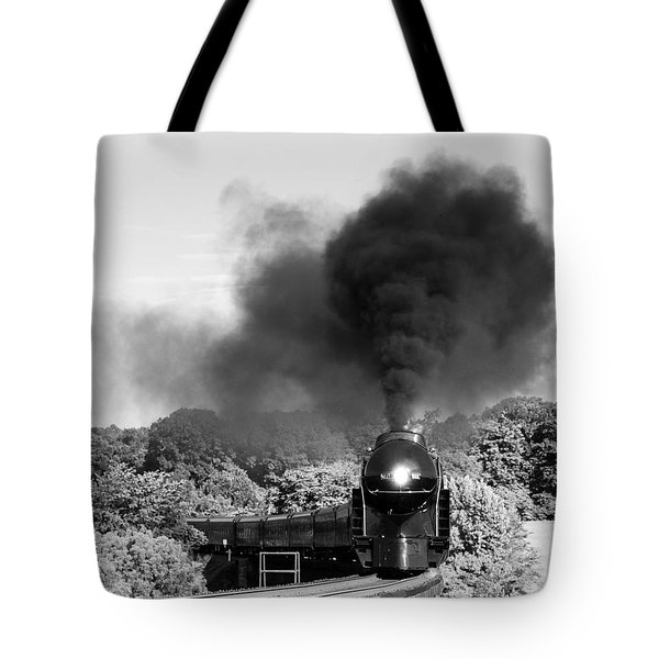 Black Cloud Tote Bag