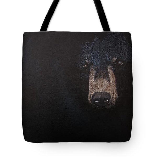 Black Danger Tote Bag