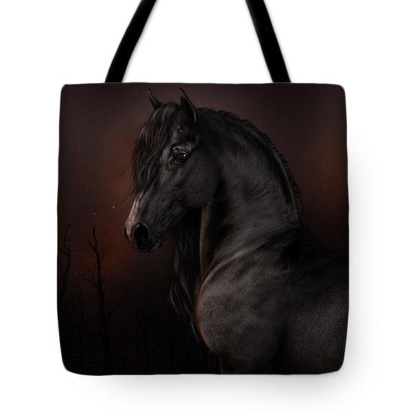 Black Dawn Tote Bag