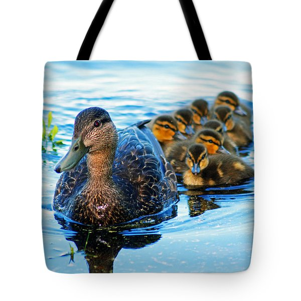 Black Duck Brood Tote Bag