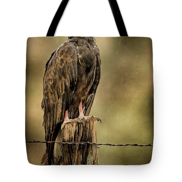 Black Eagle Tote Bag
