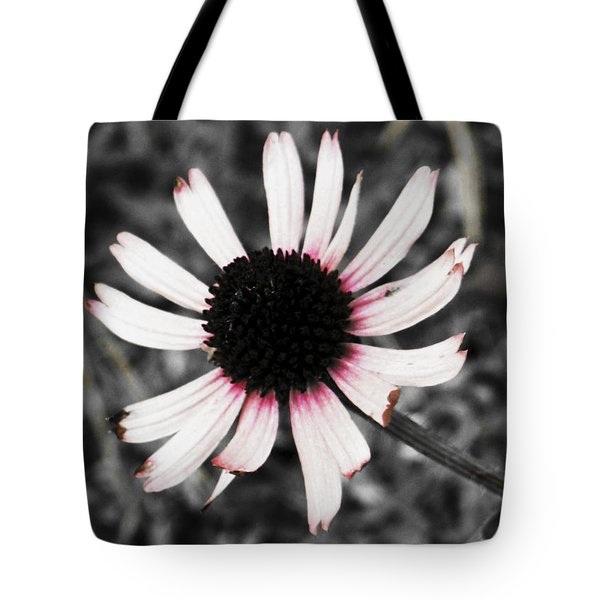 Tote Bag featuring the photograph Black Eyed by Deborah  Crew-Johnson