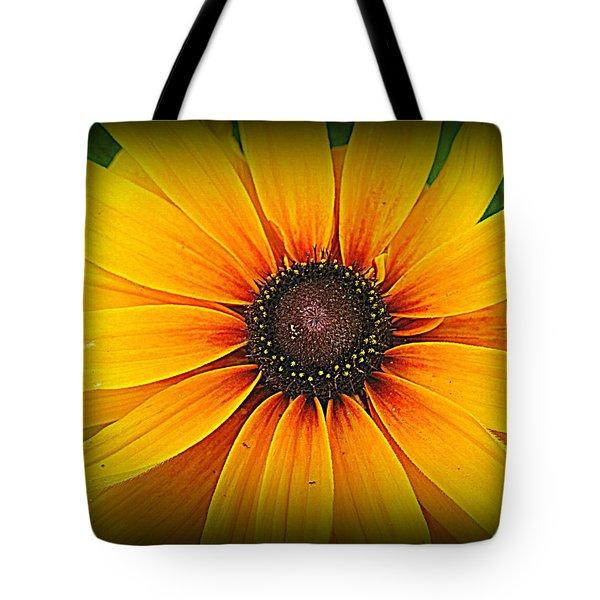 'black Eyed Susan' Tote Bag