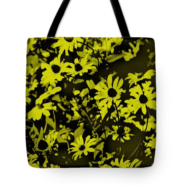 Black Eyed Susan's Tote Bag by Bill Cannon
