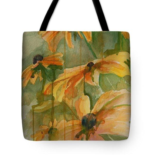 Black Eyed Susans Tote Bag by Gretchen Bjornson