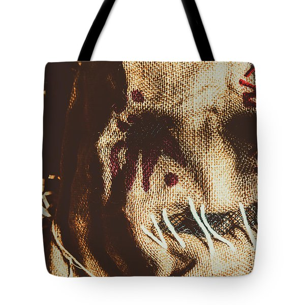 Black Eyes And Dried Out Hearts Tote Bag