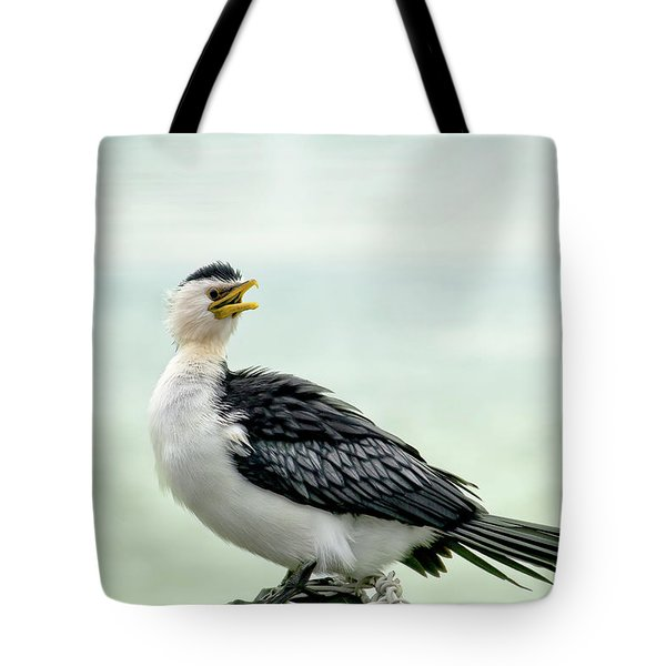 black faced Cormorant 02 Tote Bag