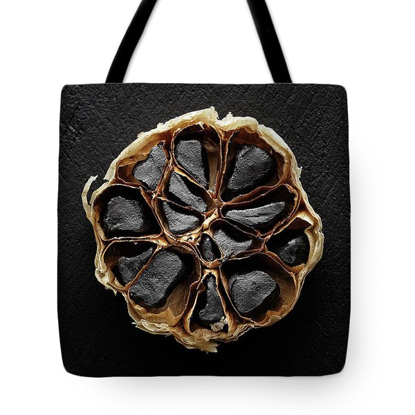 Black Garlic Cross-section Tote Bag