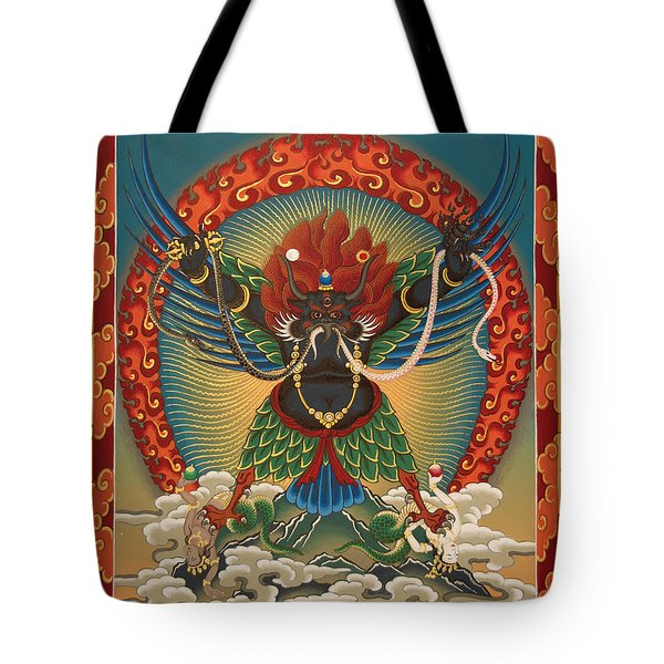 Black Garuda - Tsasum Tersar Tote Bag
