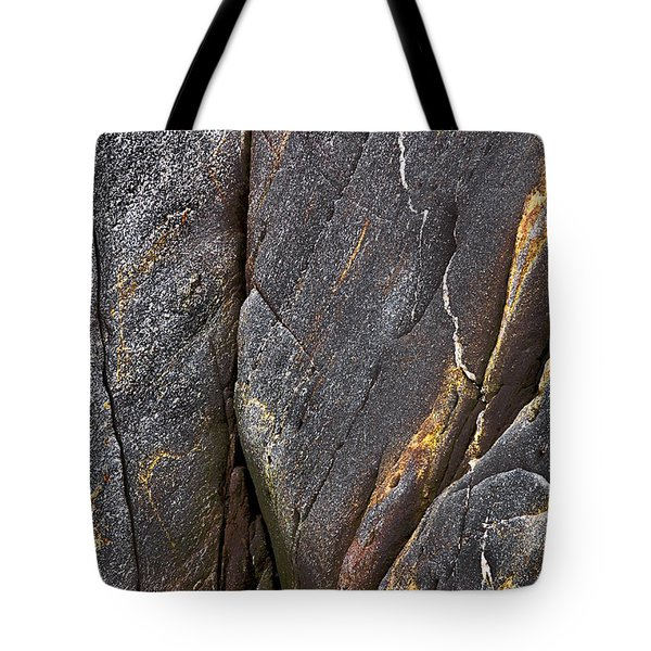 Black Granite Abstract Two Tote Bag