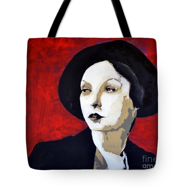 Black Hat Tote Bag