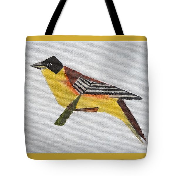 Black-headed Bunting Tote Bag