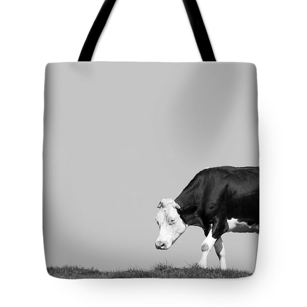 Black Hereford Tote Bag
