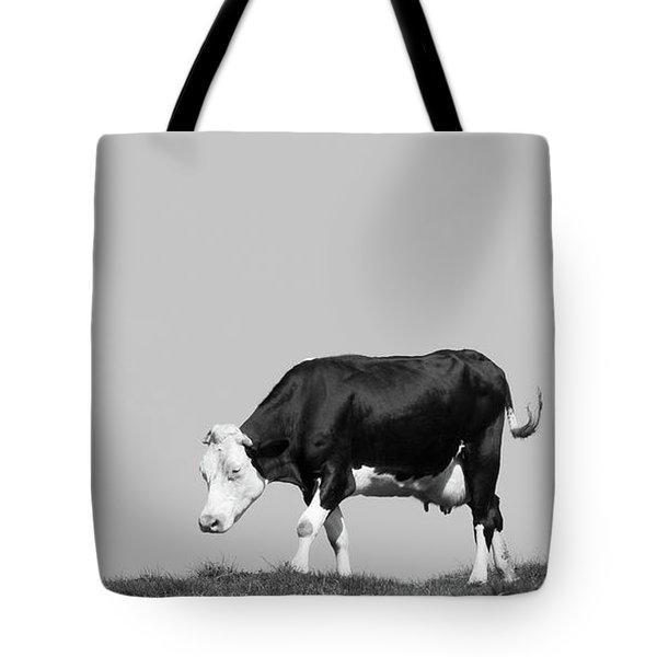 Black Hereford Tote Bag
