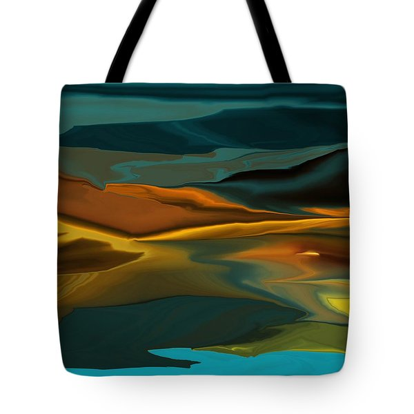 Black Hills Abstract Tote Bag by David Lane