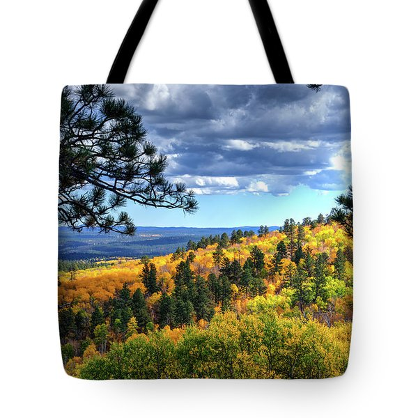 Black Hills Autumn Tote Bag