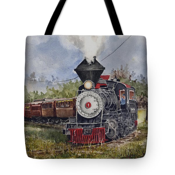 Black Hills Central Number 7 Tote Bag