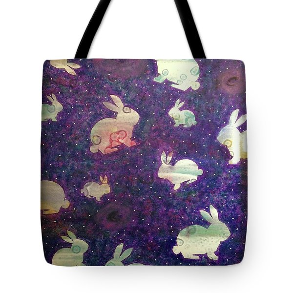 Black Holes And Bunnies Tote Bag