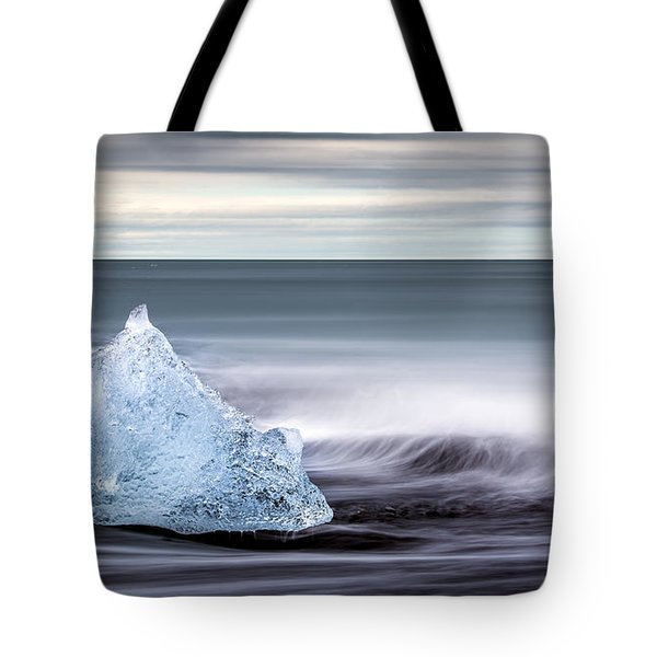 Black Ice Tote Bag