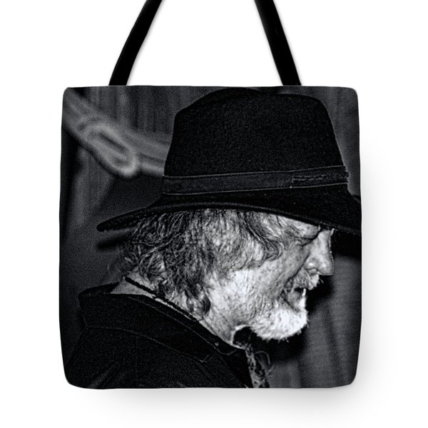 Black Jack-rock Band Musician Tote Bag by Renee Anderson