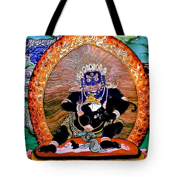 Black Jambhala  5 Tote Bag