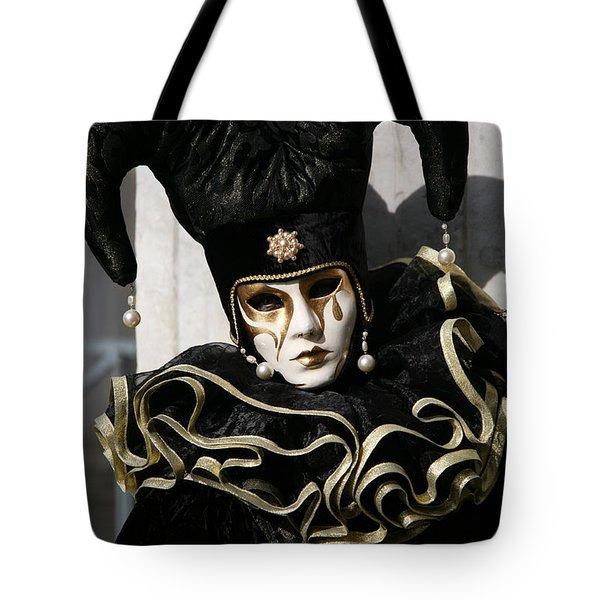Black Jester Tote Bag