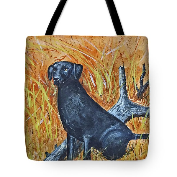Black Lab-2 Tote Bag