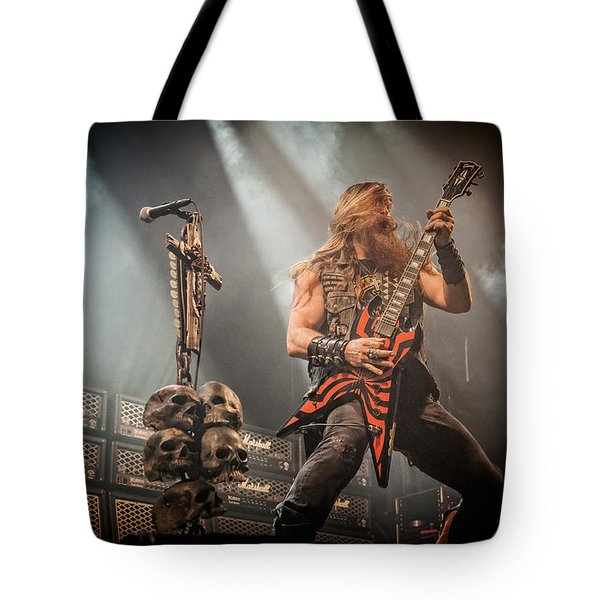 Tote Bag featuring the photograph Black Label Society II by Stefan Nielsen