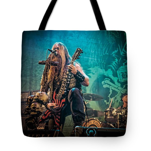 Tote Bag featuring the photograph Black Label Society by Stefan Nielsen