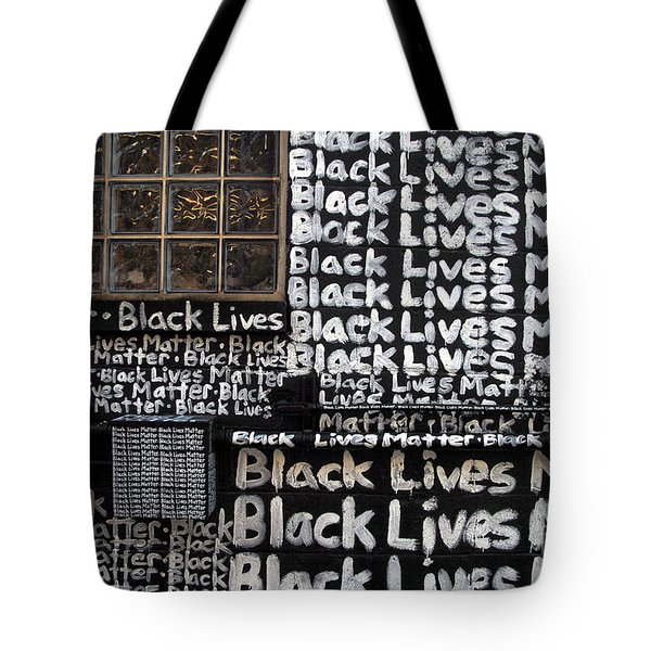 Black Lives Matter Wall Part 1 Of 9 Tote Bag