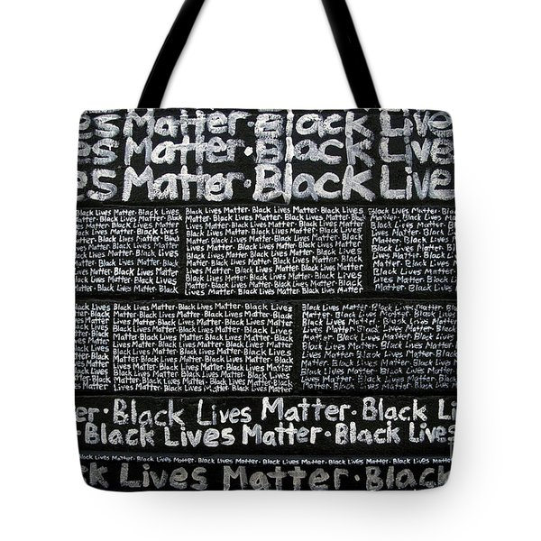 Black Lives Matter Wall Part 3 Of 9 Tote Bag
