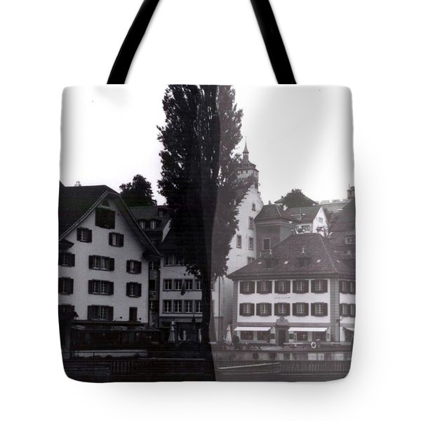 Black Lucerne Tote Bag