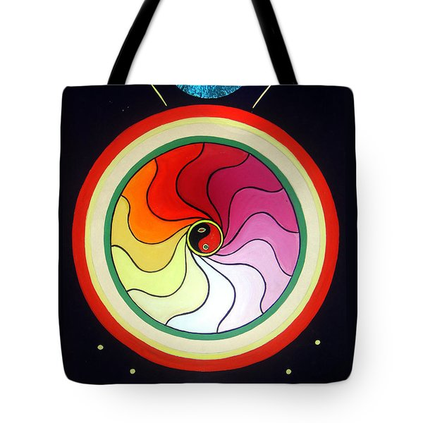Black Magic. Spectrum Of Energy Tote Bag