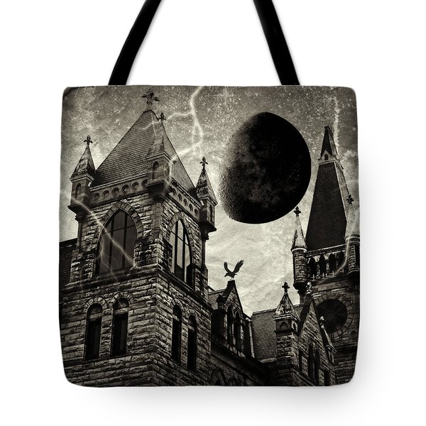 Black Moons Rising Tote Bag