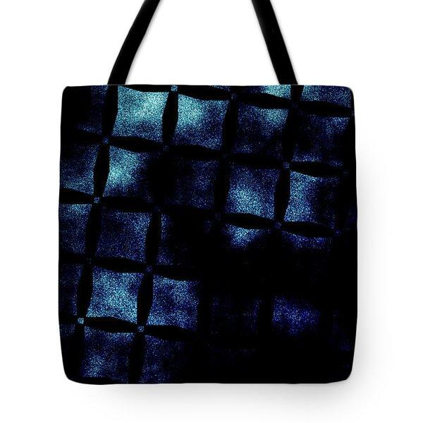 Black N Blue Burn Tote Bag