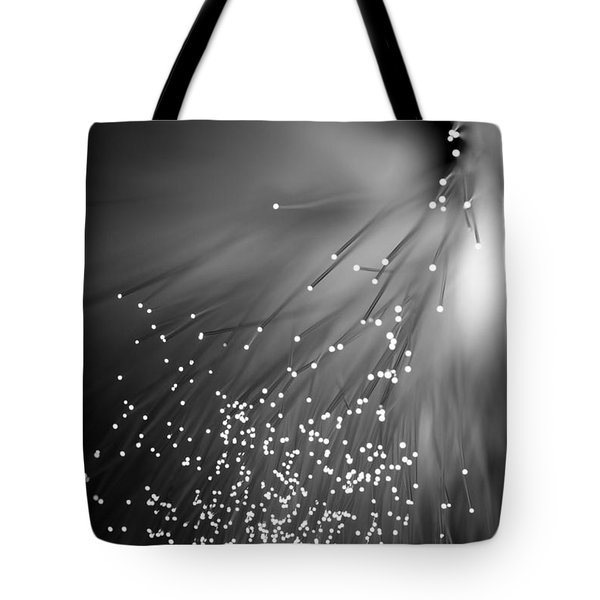 Black Night Tote Bag by Dazzle Zazz