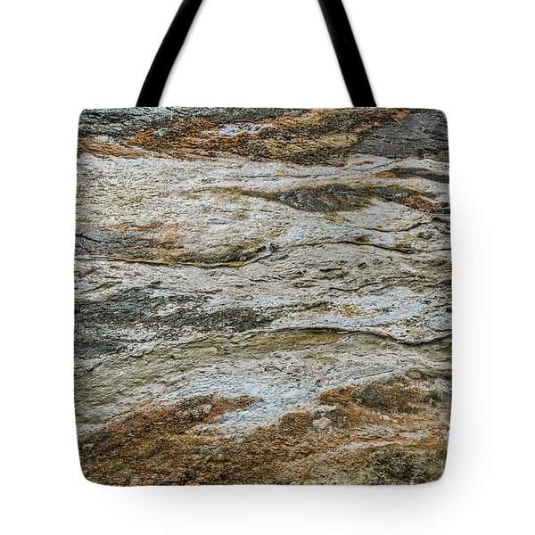 Tote Bag featuring the photograph Black Obsidian Sand And Other Textures by Sue Smith