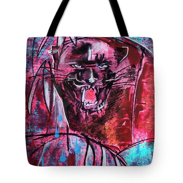 Black Panther,  Original Painting Tote Bag