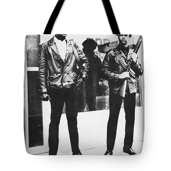 Black Panther Poster, 1968 Tote Bag