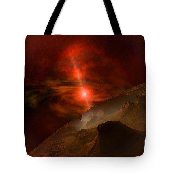 Black Pearl Tote Bag by Corey Ford