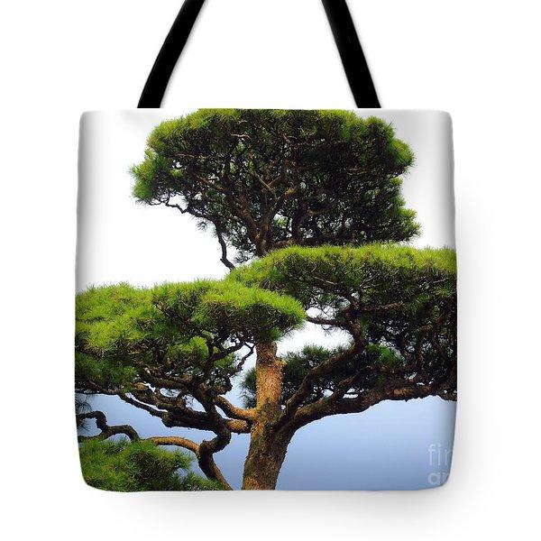 Black Pine Japan Tote Bag