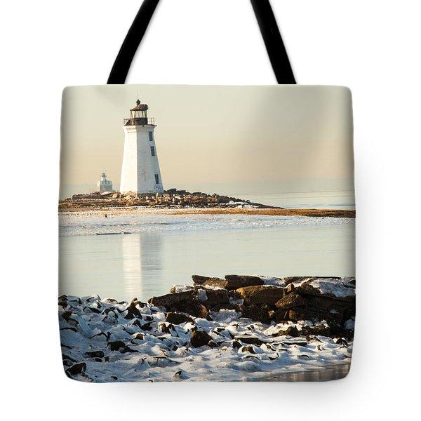 Black Rock Harbor Tote Bag